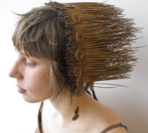 8. Pine Needle Headdress